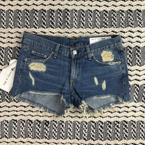 (Rag & Bone) New w/ Tags Winnie Cut Off Shorts